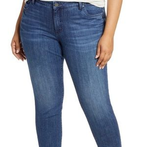 Kut from the Kloth Ankle Straight Leg Plus Size 20